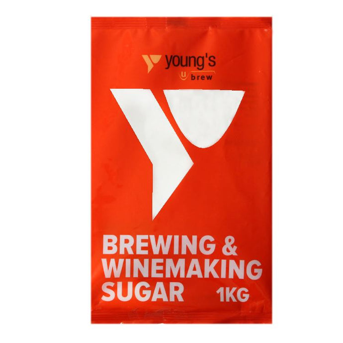 Young's Brewing & Winemaking Sugar (1kg) - Almost Off Grid