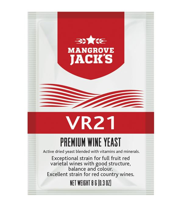 Mangrove Jack's Premium Wine Yeast (VR21) - Almost Off Grid