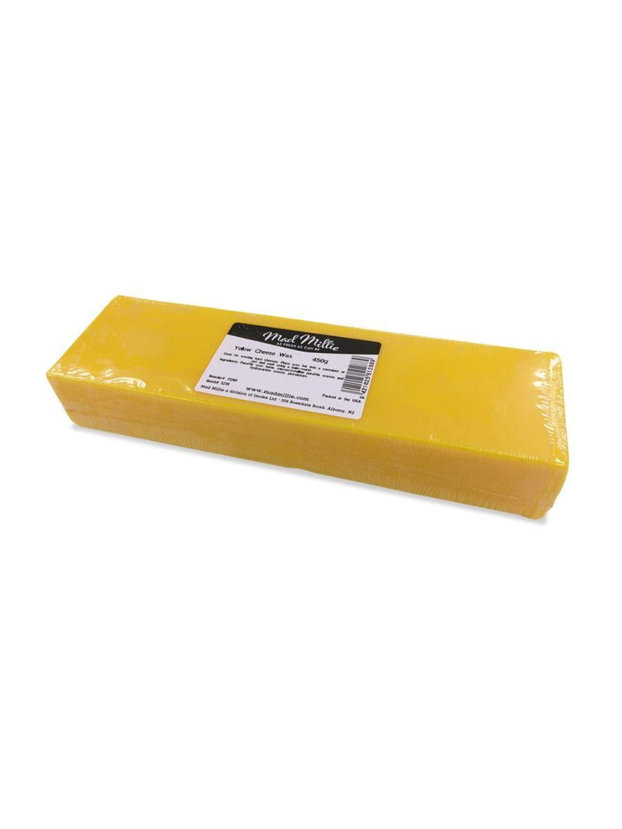 Mad Millie Yellow Cheese Wax Block 450g