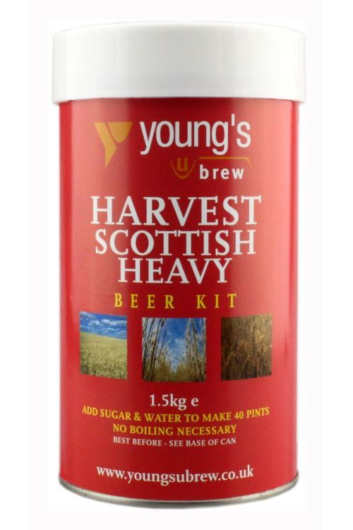 Young's Harvest Scottish Heavy Beer Kit - Almost Off Grid