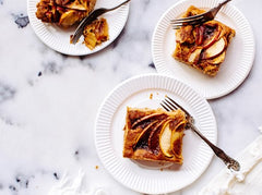 Camembert & Apple Tart