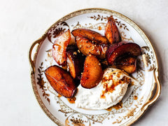 Honey-Roasted Plums