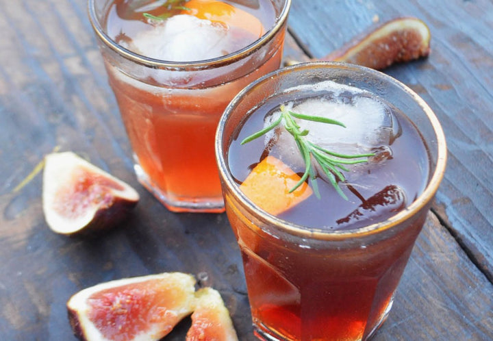 Whiskey Fig Jam Cocktail