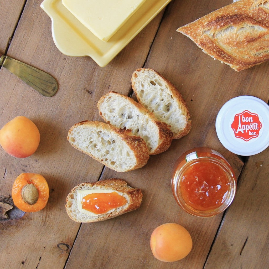 Use Apricot Jam on Bread - Bon Appétit Box