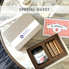 Special Guest, Bon Appétit Box also offers Hospitality Boxes