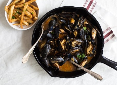 The mind-blowing Moules-Frites - Bon Appétit Box