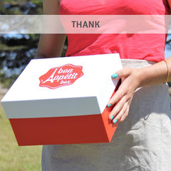 Thank others with the French Bon Appétit Box delivered right to your door