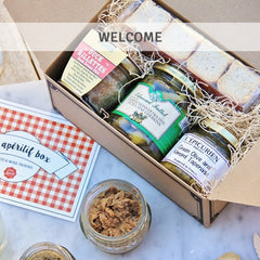 Welcome with the perfect French Bon Appétit Box