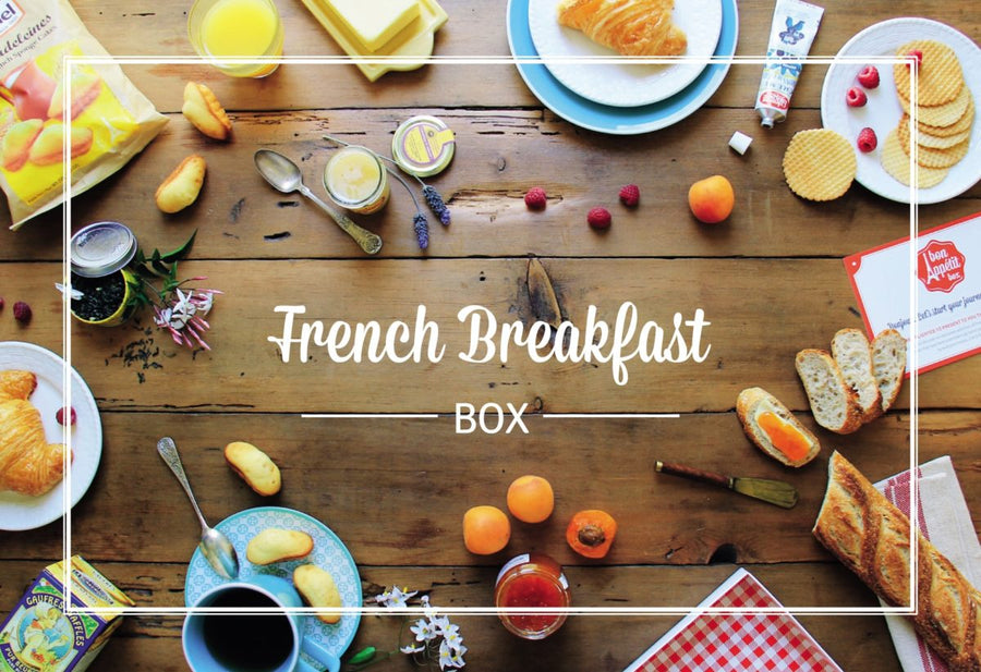 French Breakfast Bon Appétit Box offers scrumptious gourmet boxes
