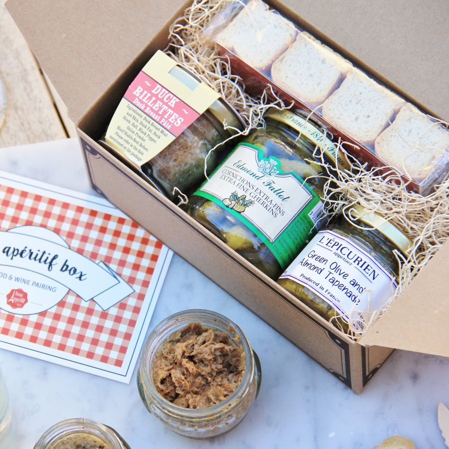 French gourmet items included in 4 MONTH SUBSCRIPTION - SNACK BOX