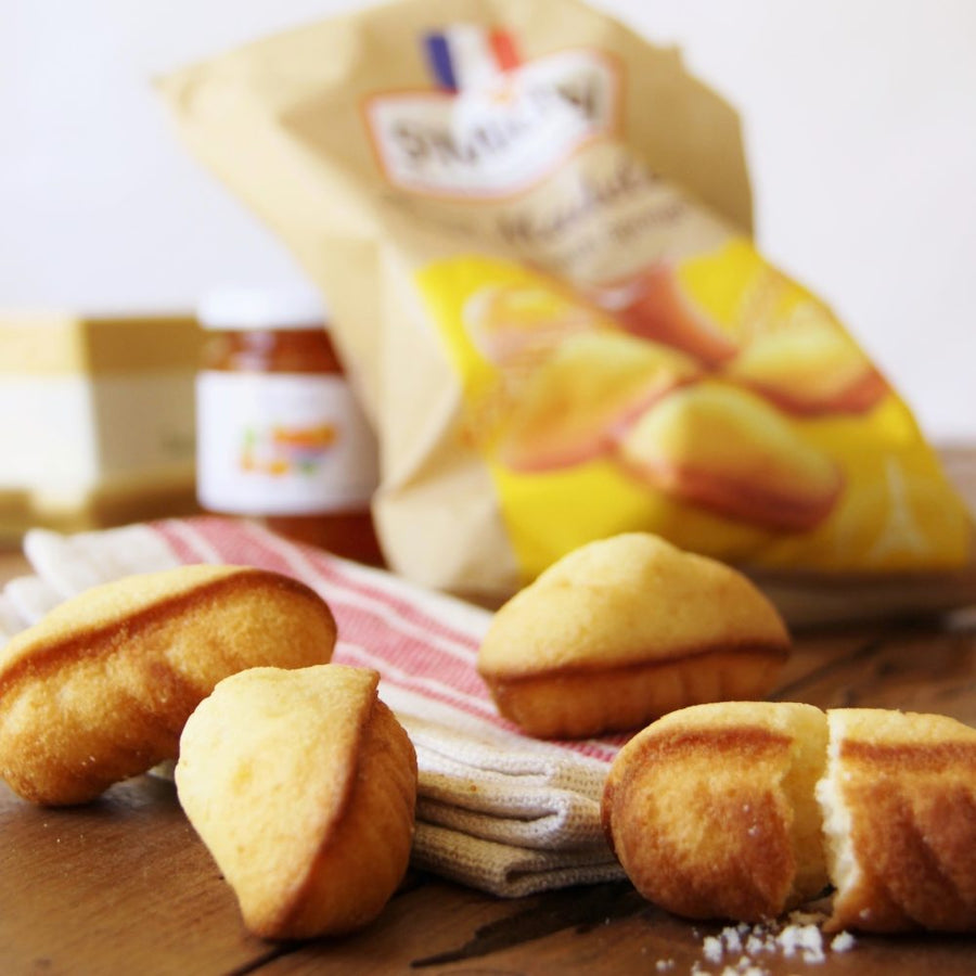 French Mini Madeleines included in the French Breakfast gourmet box