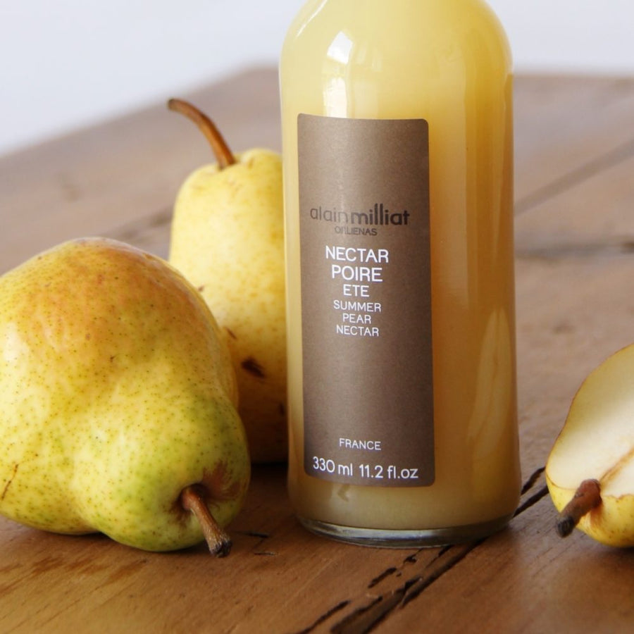 Pear Nectar included in the French Breakfast gourmet box