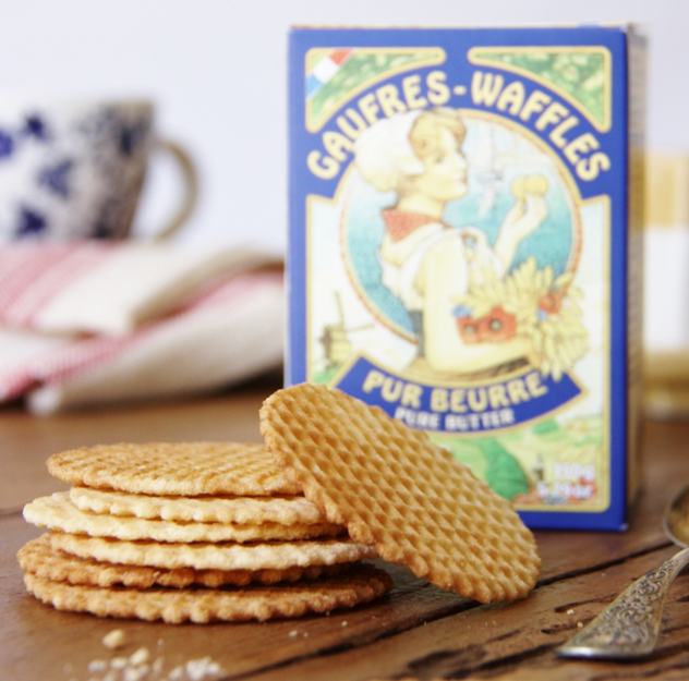 French Pure Butter Waffles available exclusively at Bon Appétit Box