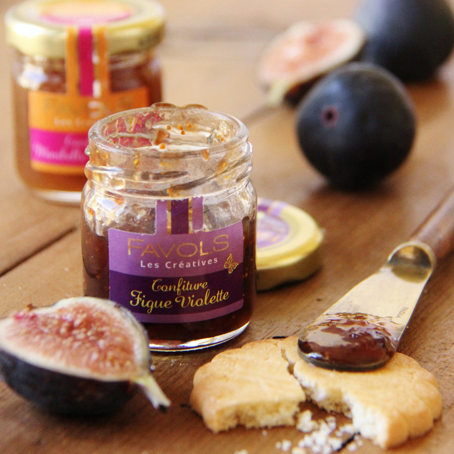 Figue Violet Confiture in 4 MONTH SUBSCRIPTION - SNACK BOX