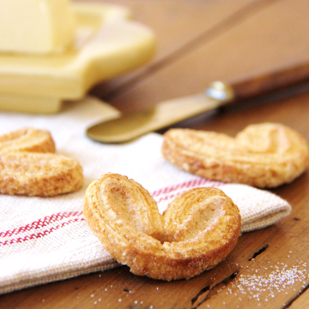 Pure Butter Palmiers made in France available at Bon Appétit Box