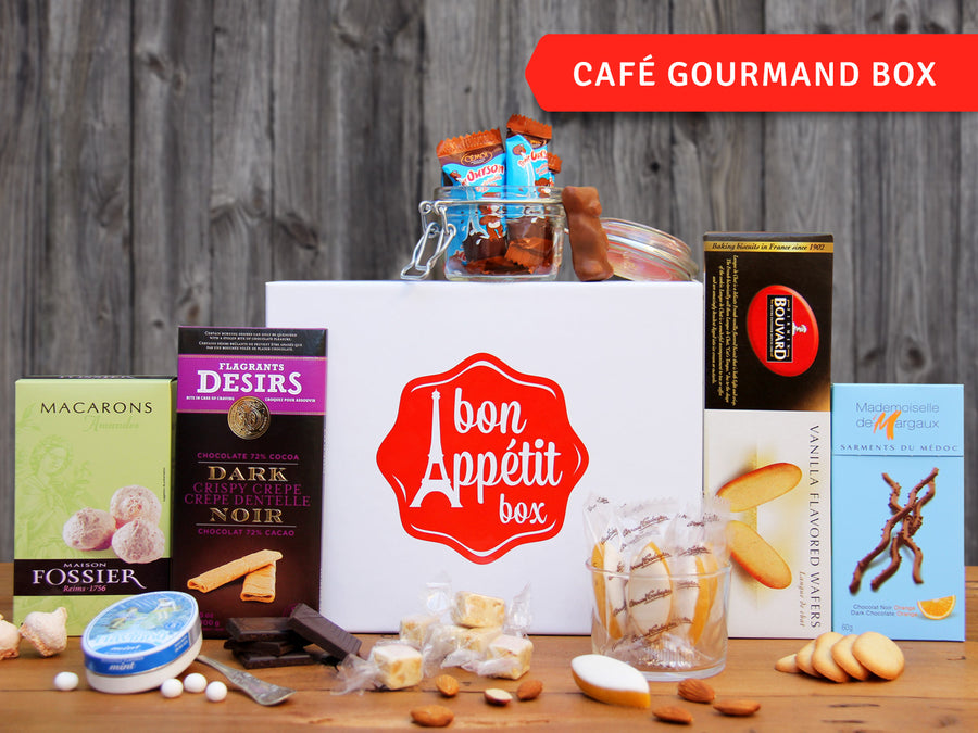 Café Gourmand Gourmet Subscription Food Box by Bon Appétit Box