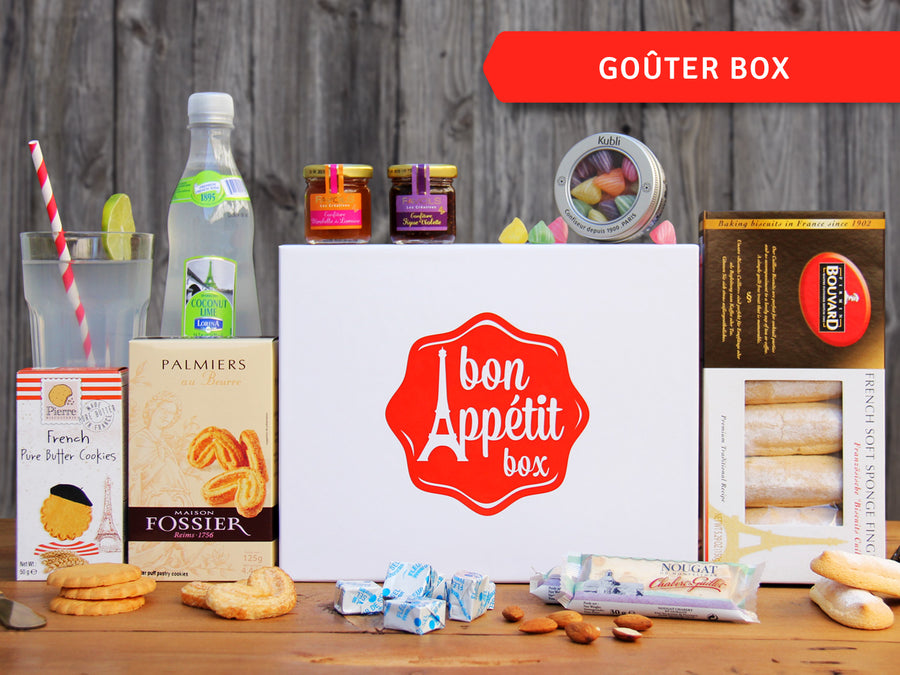 Goûter Gourmet Subscription Food Box by Bon Appétit Box