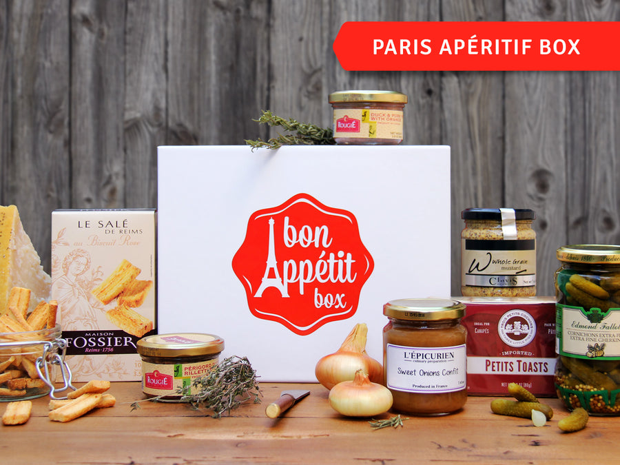 Paris Apéritif Gourmet Subscription Food Box by Bon Appétit Box