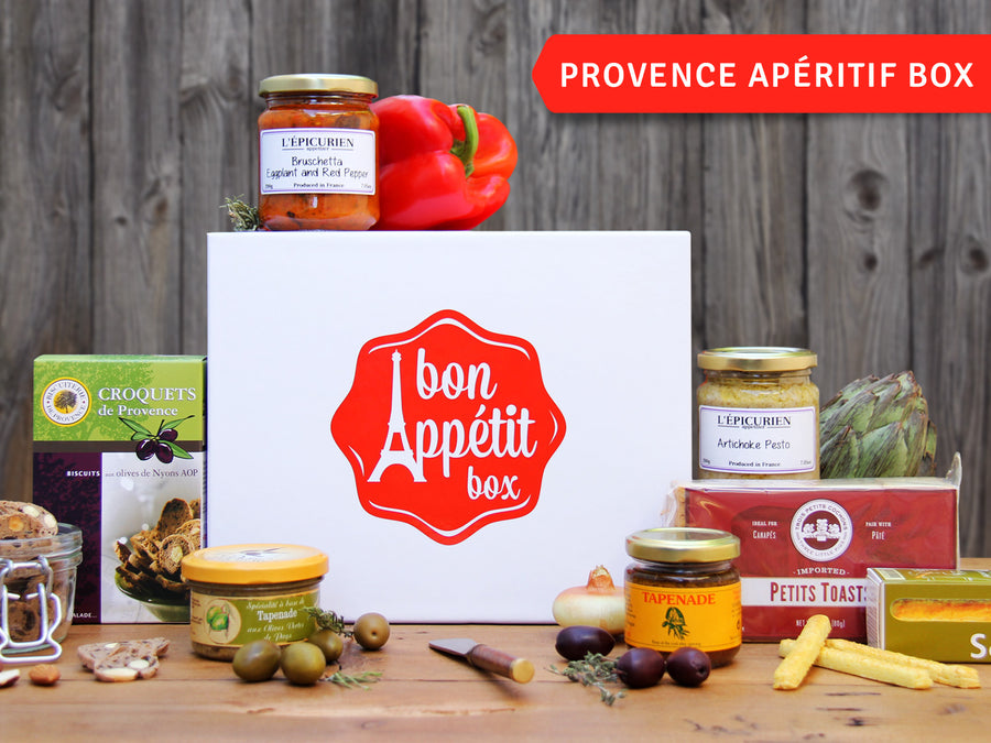 Provence Apéritif Gourmet Subscription Food Box by Bon Appétit Box