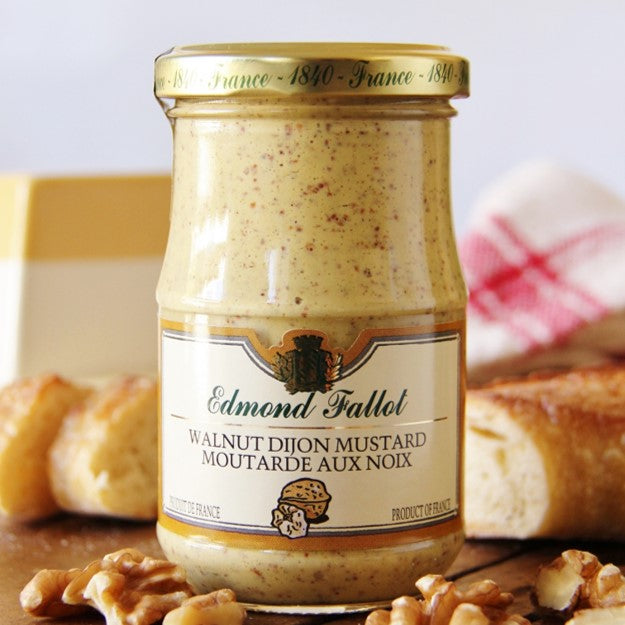 This Dijon Walnut Mustard is a French typical condiment at Bon Appétit Box