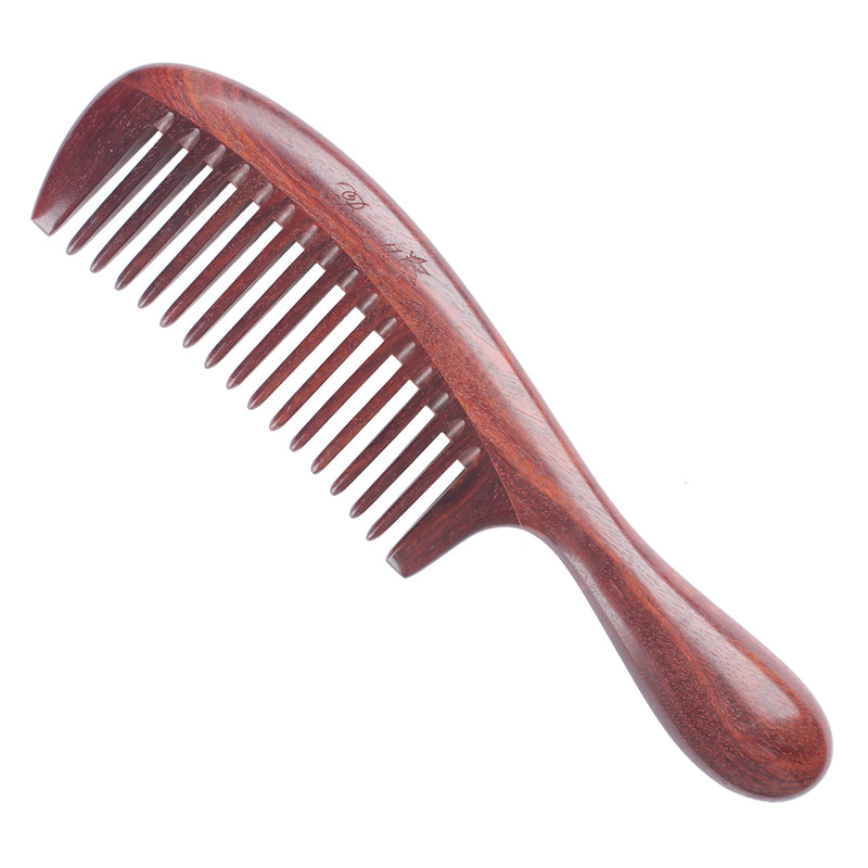 Breezelike No Static Precious High-rank Pterocarpus Santalinus Wood Comb