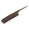 Breezelike No Static Chacate Preto Wood Comb Fine Tooth Teasing Tail Comb with Long and Thin Handle