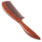 Breezelike No Static Pointed Tail Handle Red Sandalwood Comb