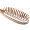 Breezelike Professional Big Size Green Sandalwood Hair Brush
