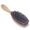 Breezelike Professional Green Sandalwood Hair Brush with Boar Bristles