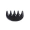 Breezelike No Static Black Buffalo Horn Massage Pocket Comb