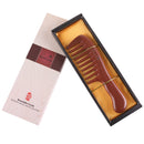 Breezelike No Static Red Sandalwood Wide Tooth Comb for Detangling