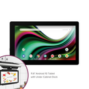 "RCA 11.6"" 2GB RAM Android 10.0 Tablet with Under Cabinet Speaker Dock (SPS3911)"