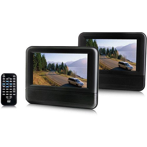 "RCA 7"" Mobile DVD System (Set of 2) - (DRC69705E22) - DVD Player & Monitor"