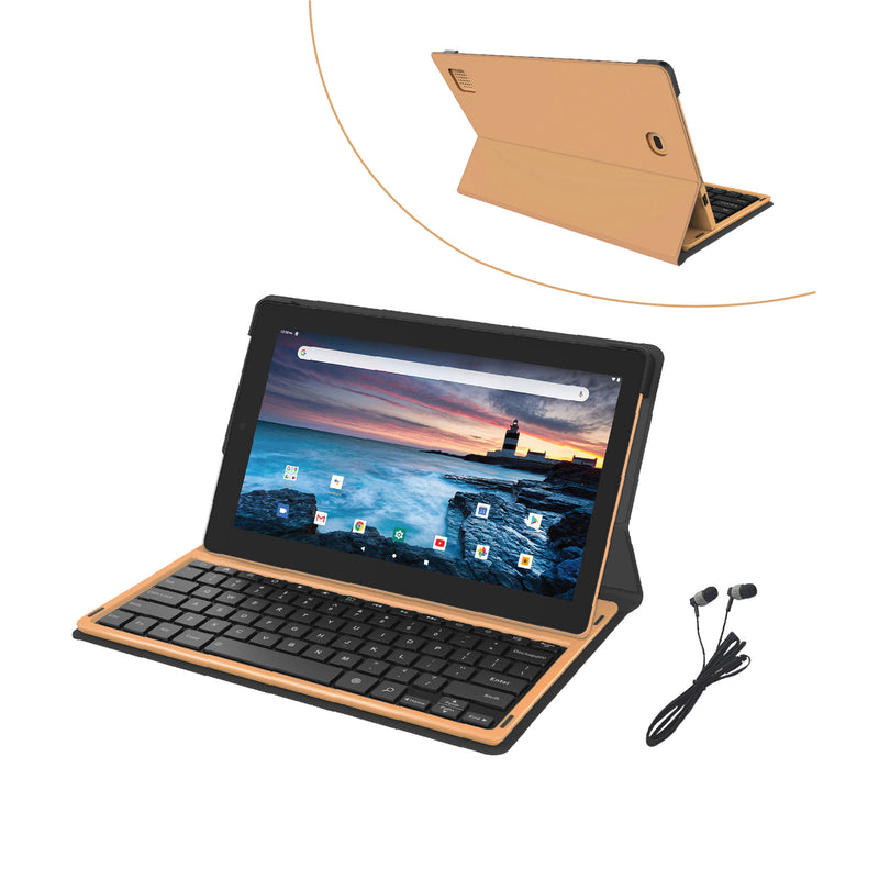 RCA 11 Delta Pro 2 Android Tablet with Folio Keyboard & Earbuds (RCT6716Q24F2B)