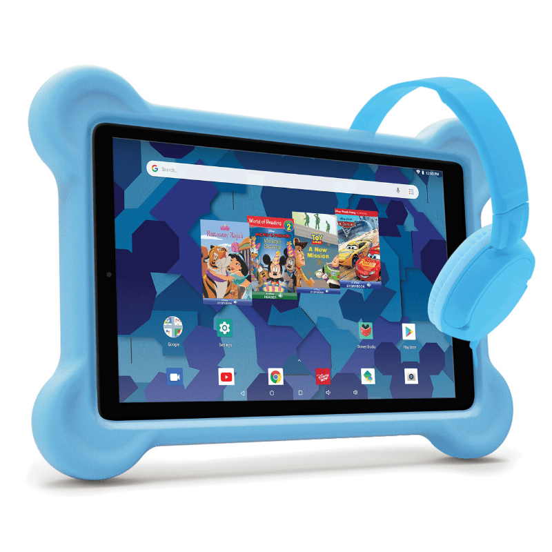 "RCA Android Disney Tablet Bundle (8"" or 10"" Tablet, Bumper Case, Headphones)"