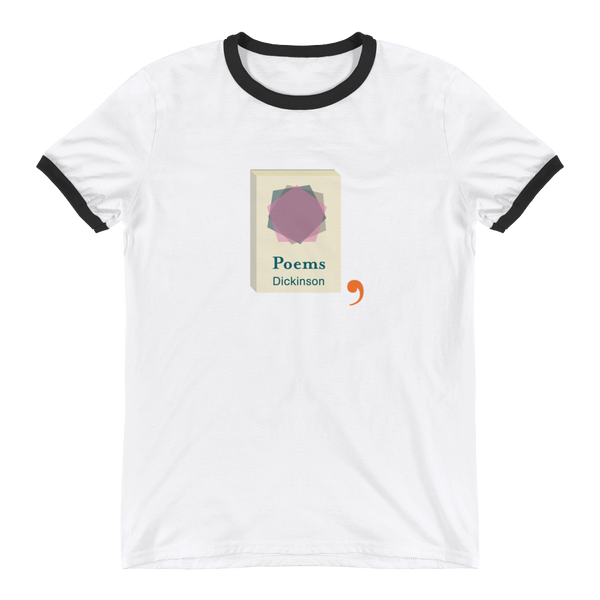 Dickinson's Poems Ringer T-Shirt