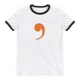 Comma Ringer T-Shirt