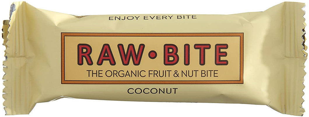 Raw Bite Bio Rohkost Riegel Coconut, 1 x 50 g