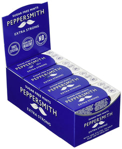 Peppersmith 100% Xylitol Mints - Extra Strong - Eukalyptus und Pfefferminze