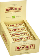 Laden Sie das Bild in den Galerie-Viewer, Raw Bite Bio Rohkost Riegel Coconut, 1 x 50 g