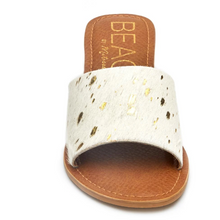 Load image into Gallery viewer, Havana Gold Spot Sandals