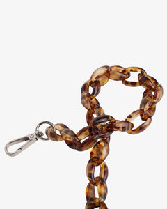 Oval Chain Handle - Tortoise