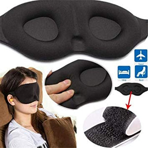 3D Sleeping eye mask Travel Rest Aid Eye Mask Cover Patch Paded Soft Sleeping Mask Blindfold Eye Relax Massager Beauty Tools