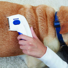 Load image into Gallery viewer, Dog Electric Terminator Brush Anti Removal Kill Lice Cleaner Electric Head Pet Fleas Electronic Lice Comb for Dog