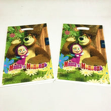 Load image into Gallery viewer, Masha And Bear Theme Kids Birthday Party Favors