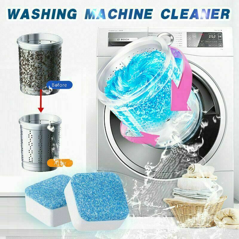 Washing Machine Tub Bomb Cleaner REMOVE all DIRT & DEEP CLEANING Remover Deodorant Durable Multifunctional Laundry Supplies