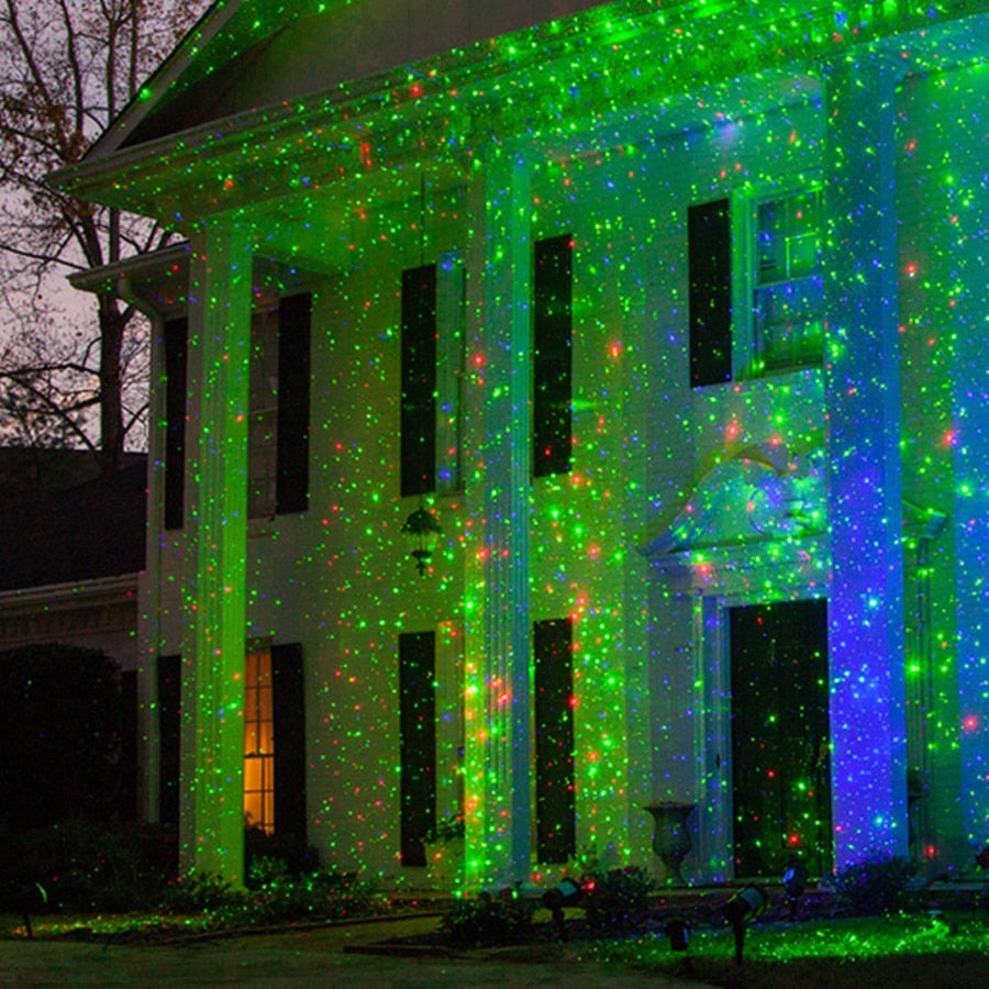 Outdoor Christmas Laser Showers Projector
