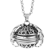 Load image into Gallery viewer, 4-Photo Expanding Locket Necklace