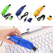 Load image into Gallery viewer, USB Mini Vacuum Cleaner For PC Keyboard