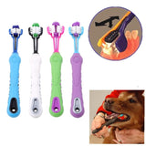 1/5Pcs Pet Dog Random Color Toothbrush